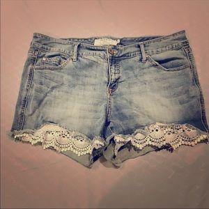 Torrid size 16 jean shorts